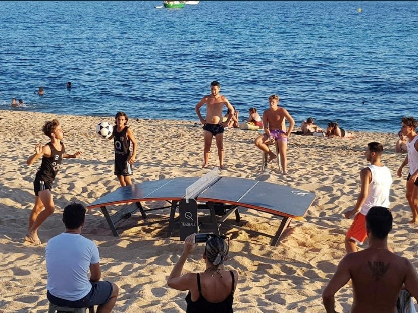 French Teqball Federation President celebrates growth of sport in Corsica
