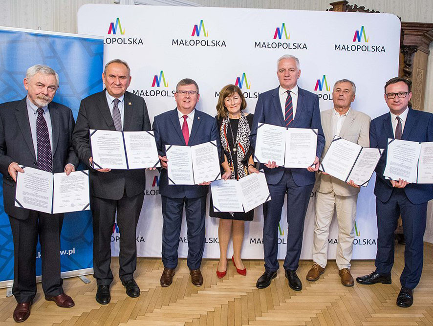 Krakow and the Małopolska region were awarded the third European Games as the only bidder last year ©EOC