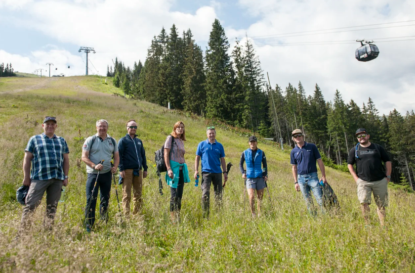 Inspection of FIS Alpine Ski World Cup course in Jasná completed