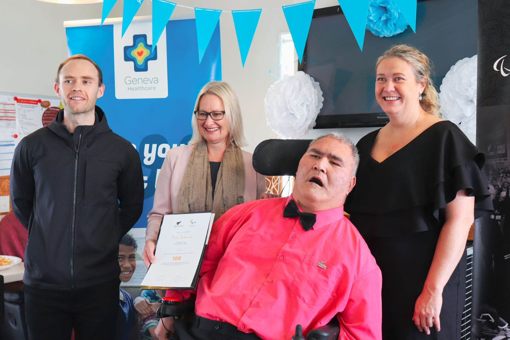 Paralympics New Zealand recognises boccia player Simeon as part of Celebration Project