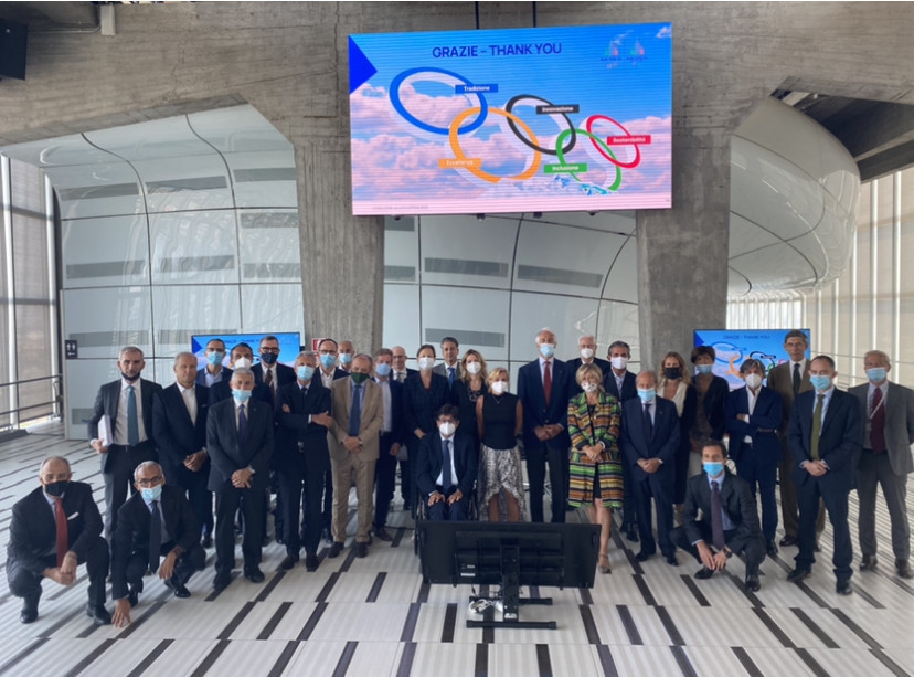 Milan Cortina 2026 Organising Committee meets 2,026 days before the Games