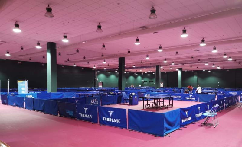 The main hall boats 12 tables ©Chengdu 2021