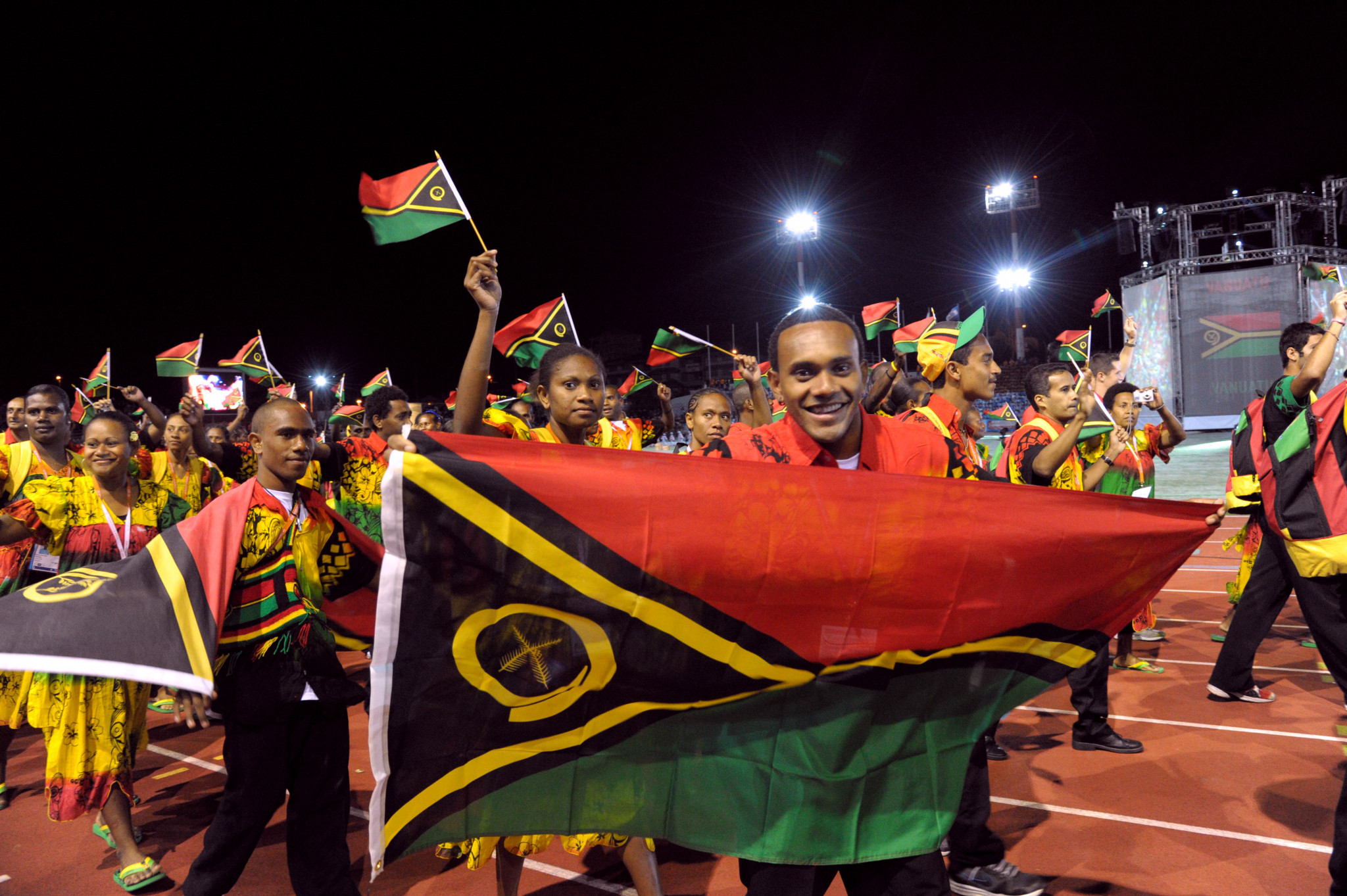 Vanuatu did not have to hold its celebrations virtually ©Getty Images