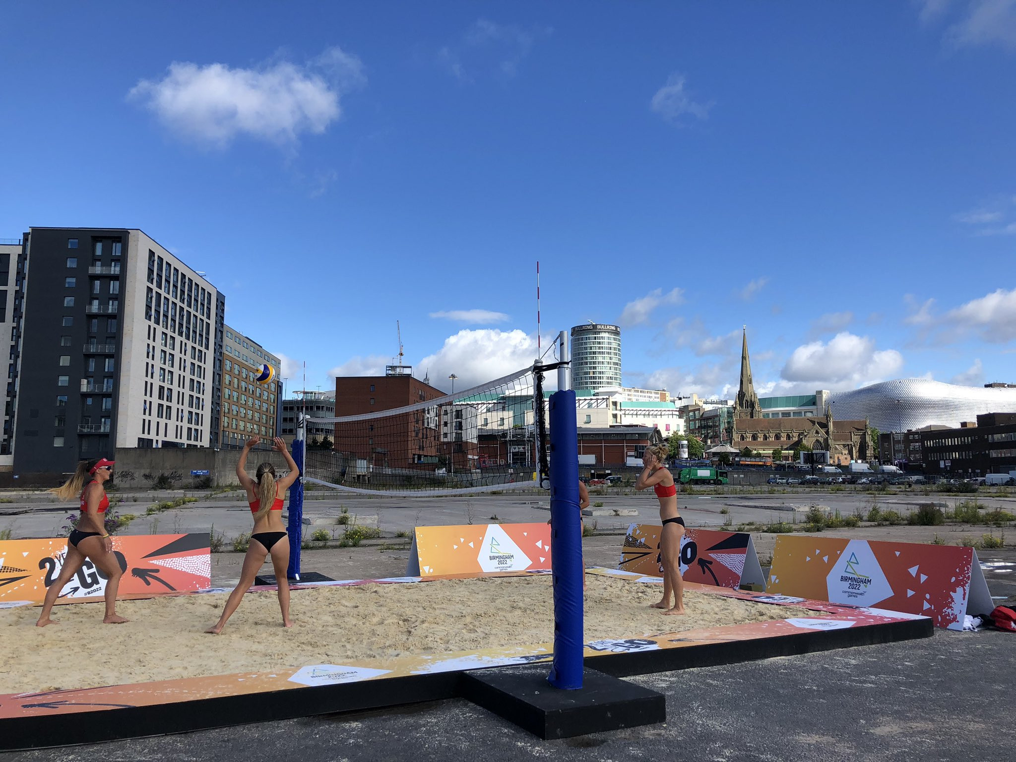 The 3x3 basketball and beach volleyball competitions at the Commonwealth Games are set to take place in the centre of Birmingham ©ITG
