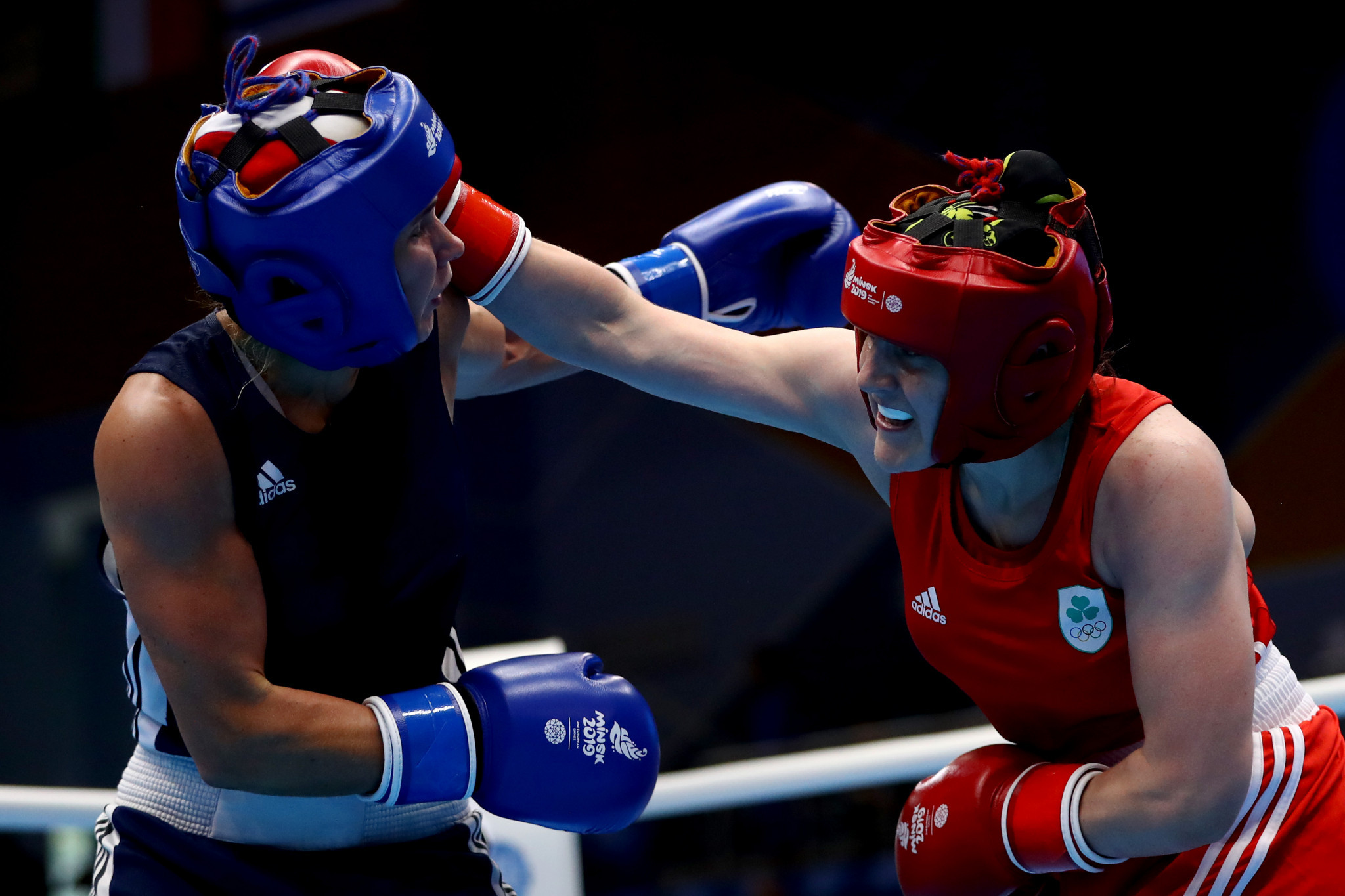 Michaela Walsh was seeded second in the European boxing qualifier, which was halted earlier this year ©Getty Images