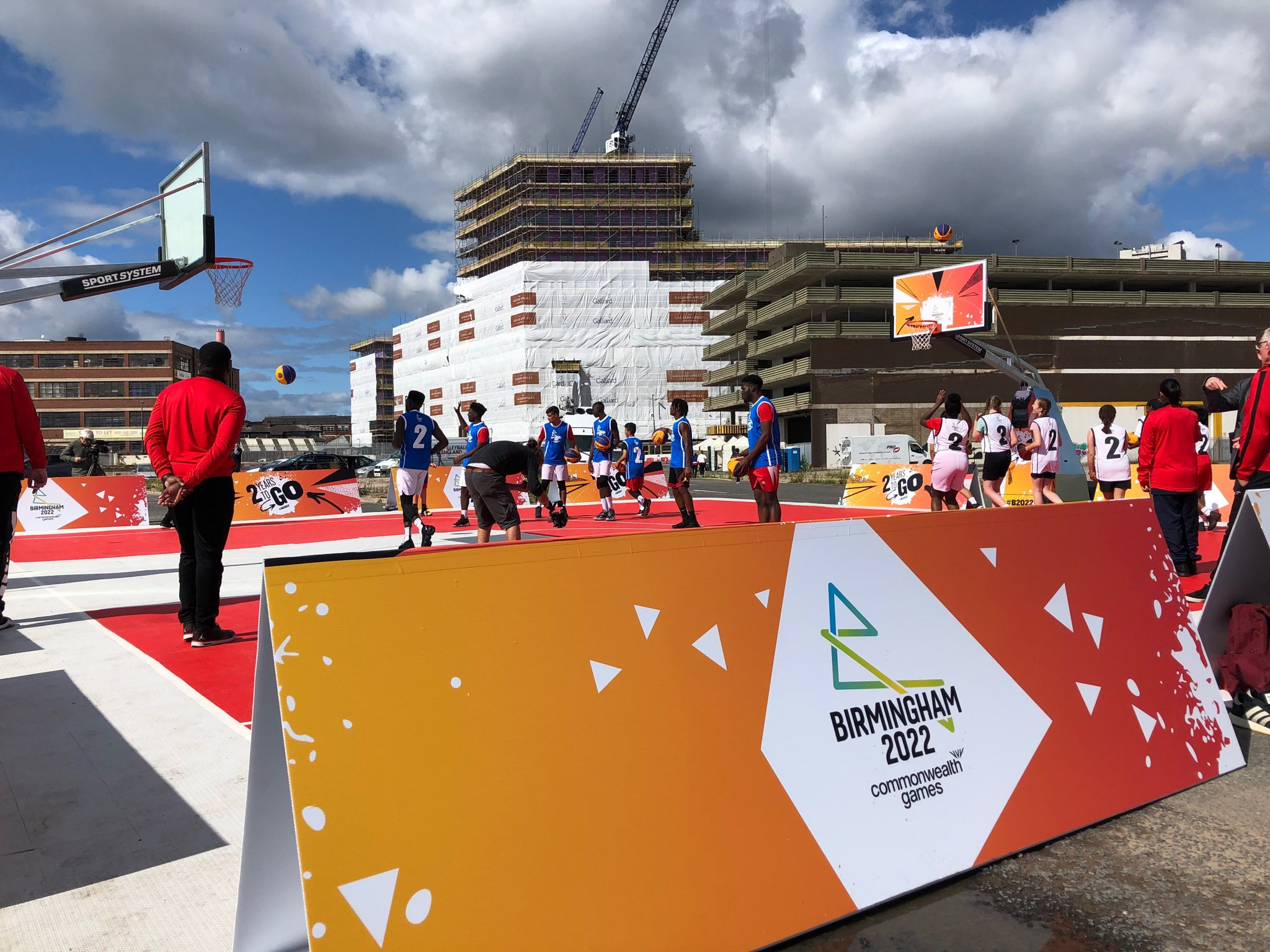 Ian Reid revealed he was confident about the successful delivery of Birmingham 2022 as the event marked two-years-to-go ©ITG