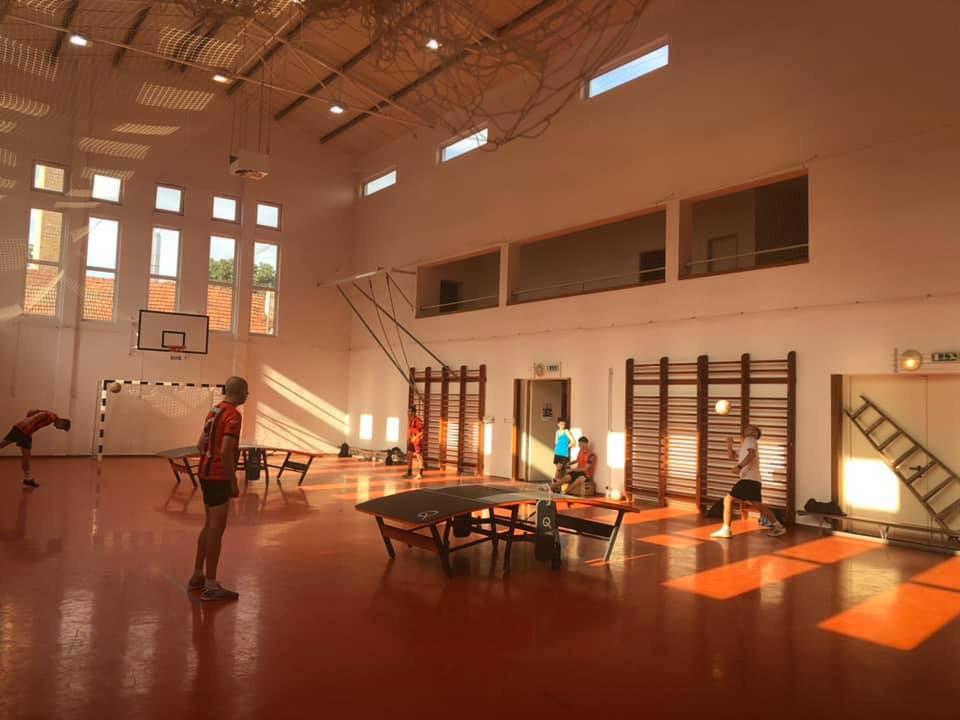 Hungarian teqball club hosts inaugural international camp