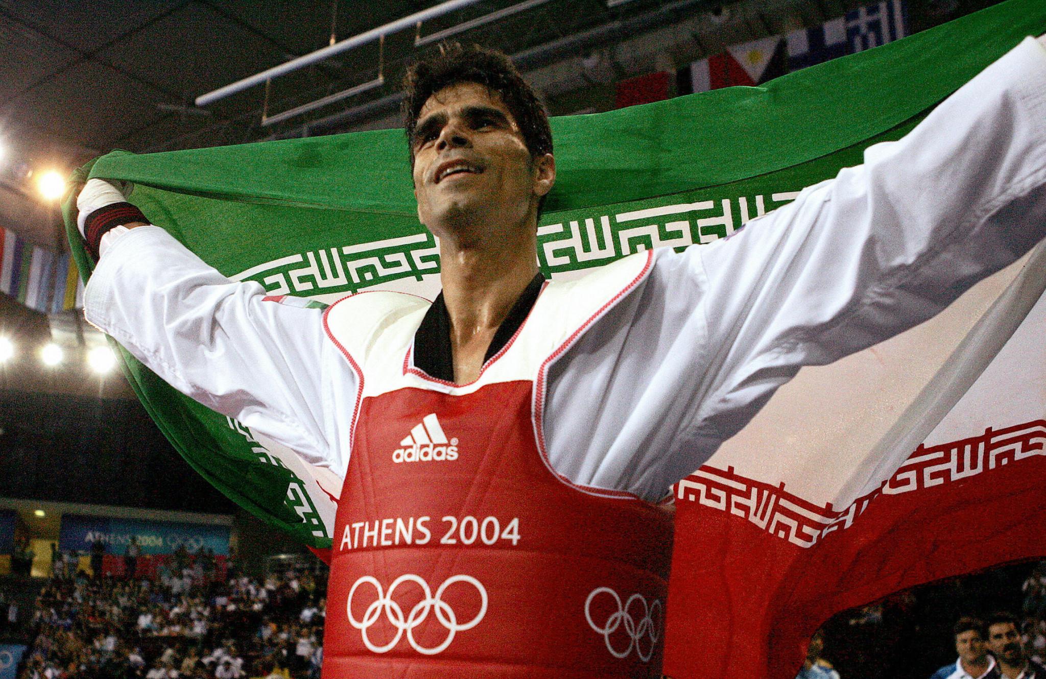 Two-time Olympic taekwondo champion Saei elected Iran NOC Athletes' Commission chairman