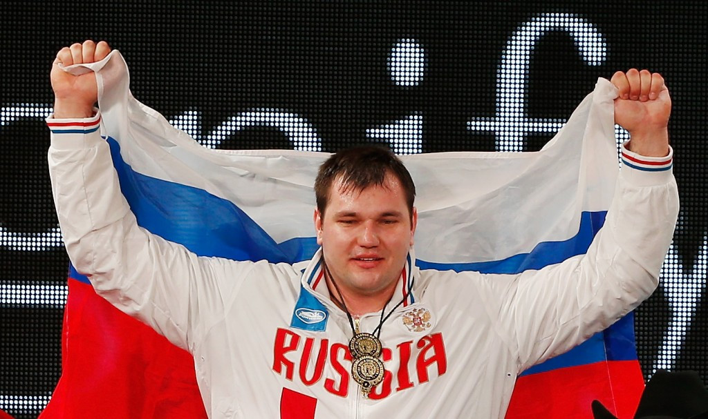 Russian world champion Lovchev among 17 new doping cases from 2015 World Weightlifting Championships