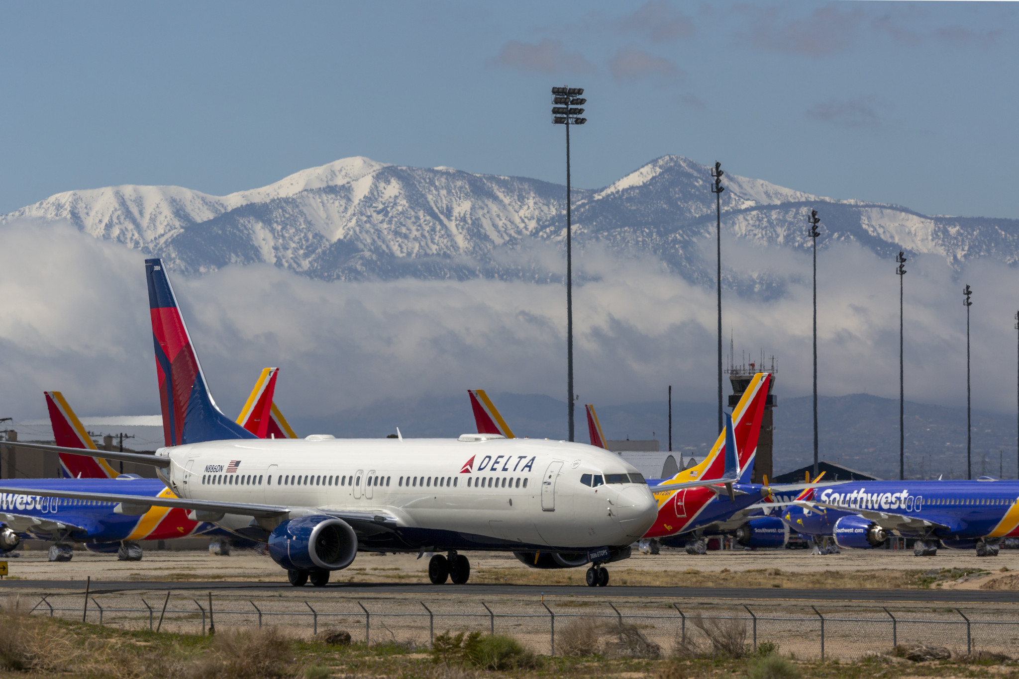 Delta Air Lines has announced huge losses just weeks after joining as a Los Angeles 2028 sponsor ©Getty Images