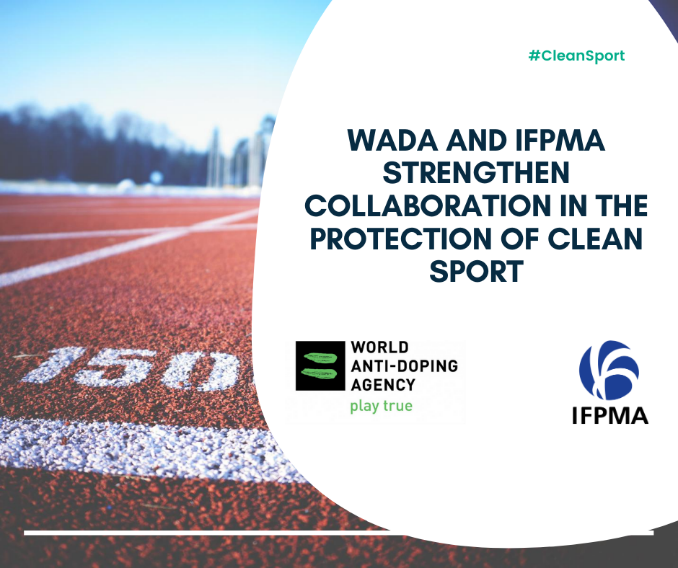 The IFPMA say the agreement strengthens their collaboration with WADA ©IFPMA