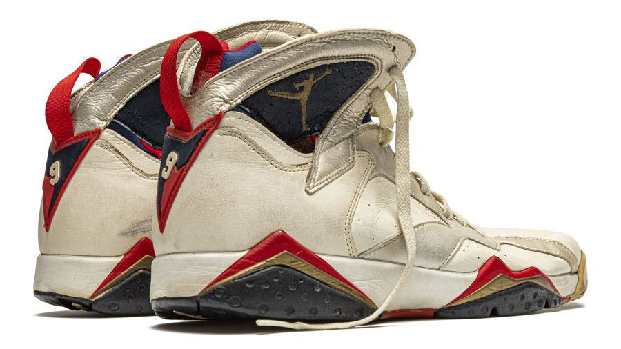 The trainers worn by Michael Jordan when he was a member of the United States