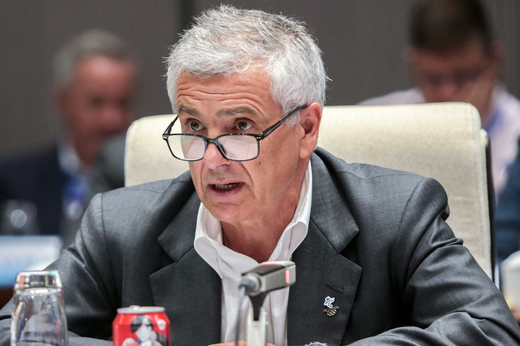 Juan Antonio Samaranch chairs the IOC Coordination Commission for Beijing 2022 ©Getty Images