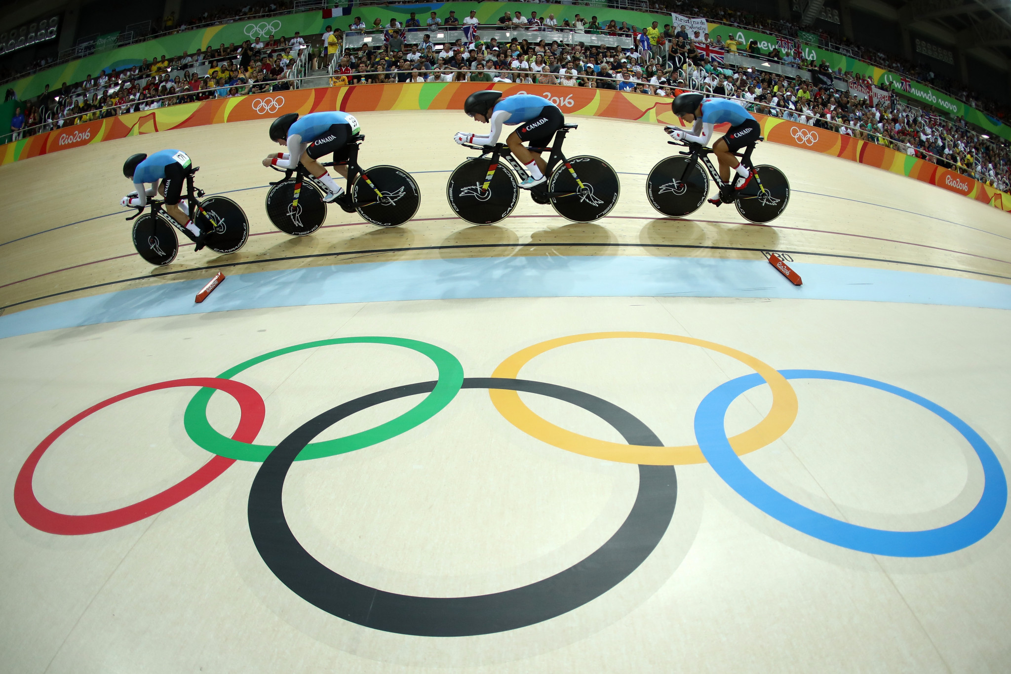 Canada will hope for a third successive women's team pursuit Olympic medal at Tokyo 2020 ©Getty Images