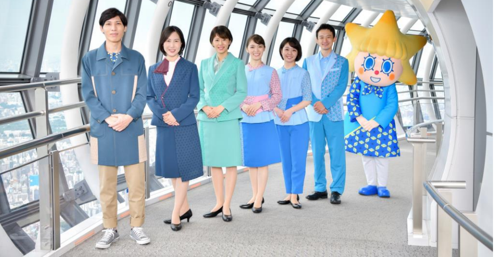 Tokyo Skytree uniforms to be refreshed in time for Olympic Games