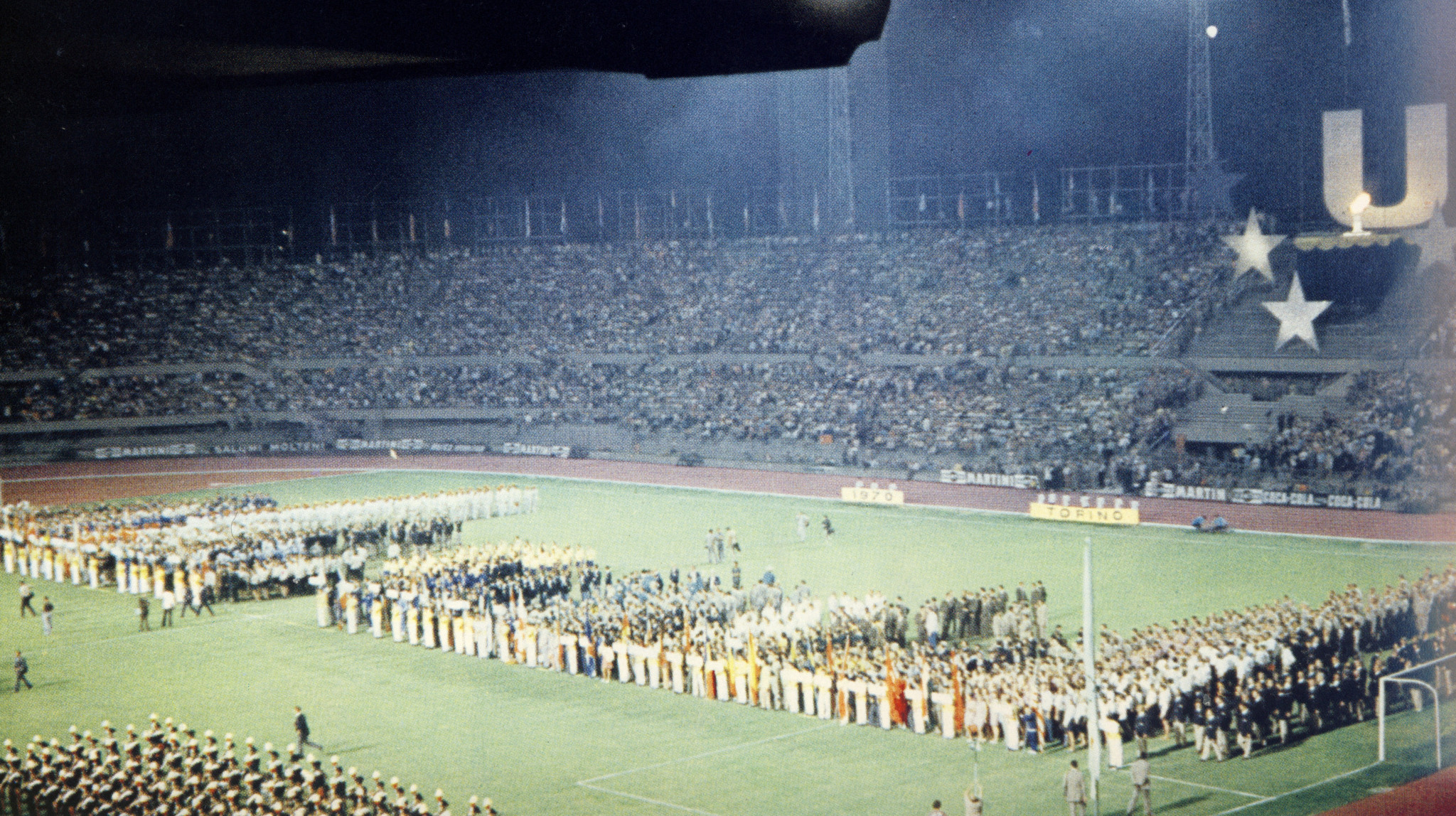 The Turin 1970 Opening Ceremony ©CUSI