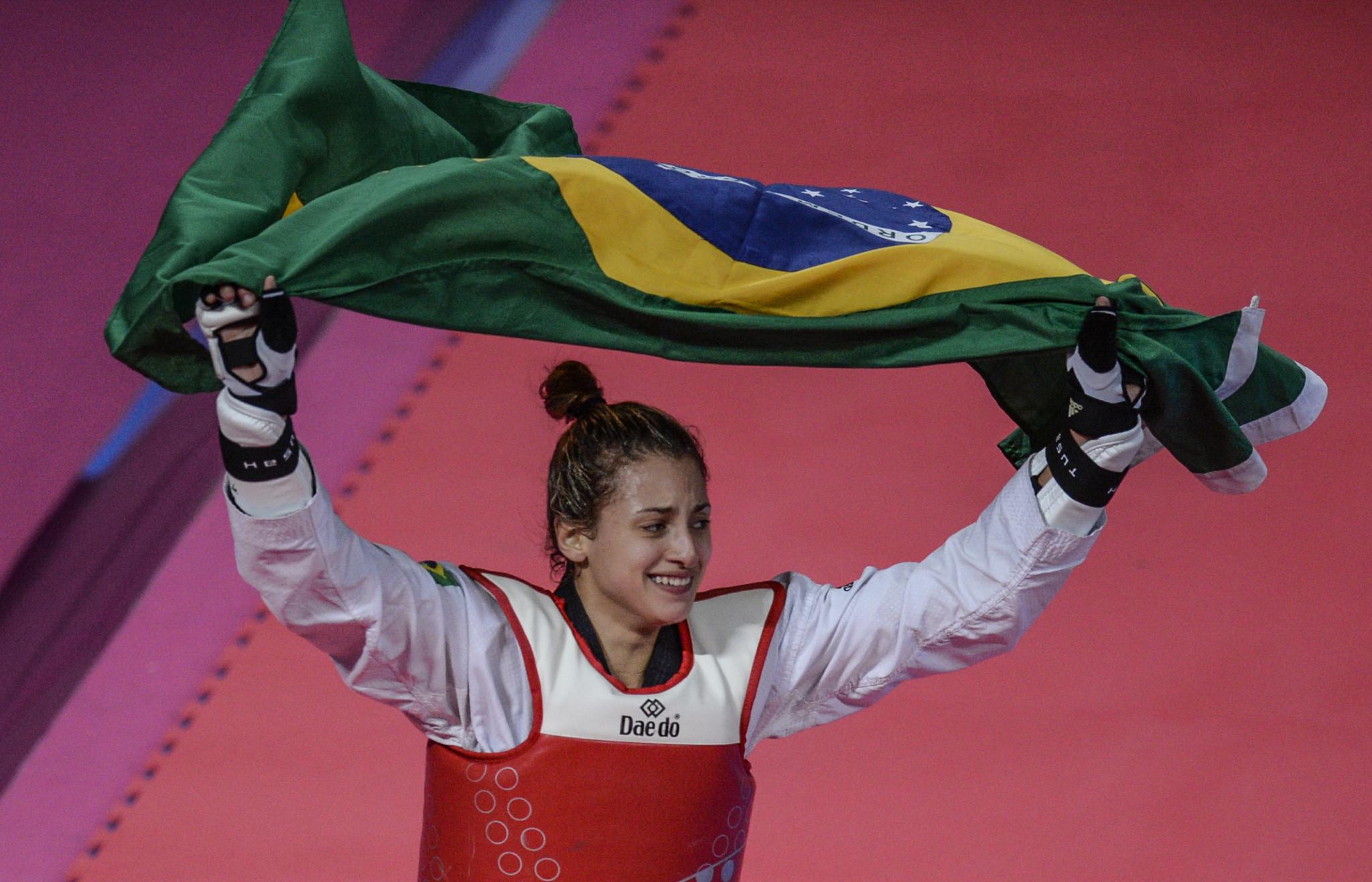 Brazilian taekwondo stars turn to virtual-reality technology to train for Tokyo 2020