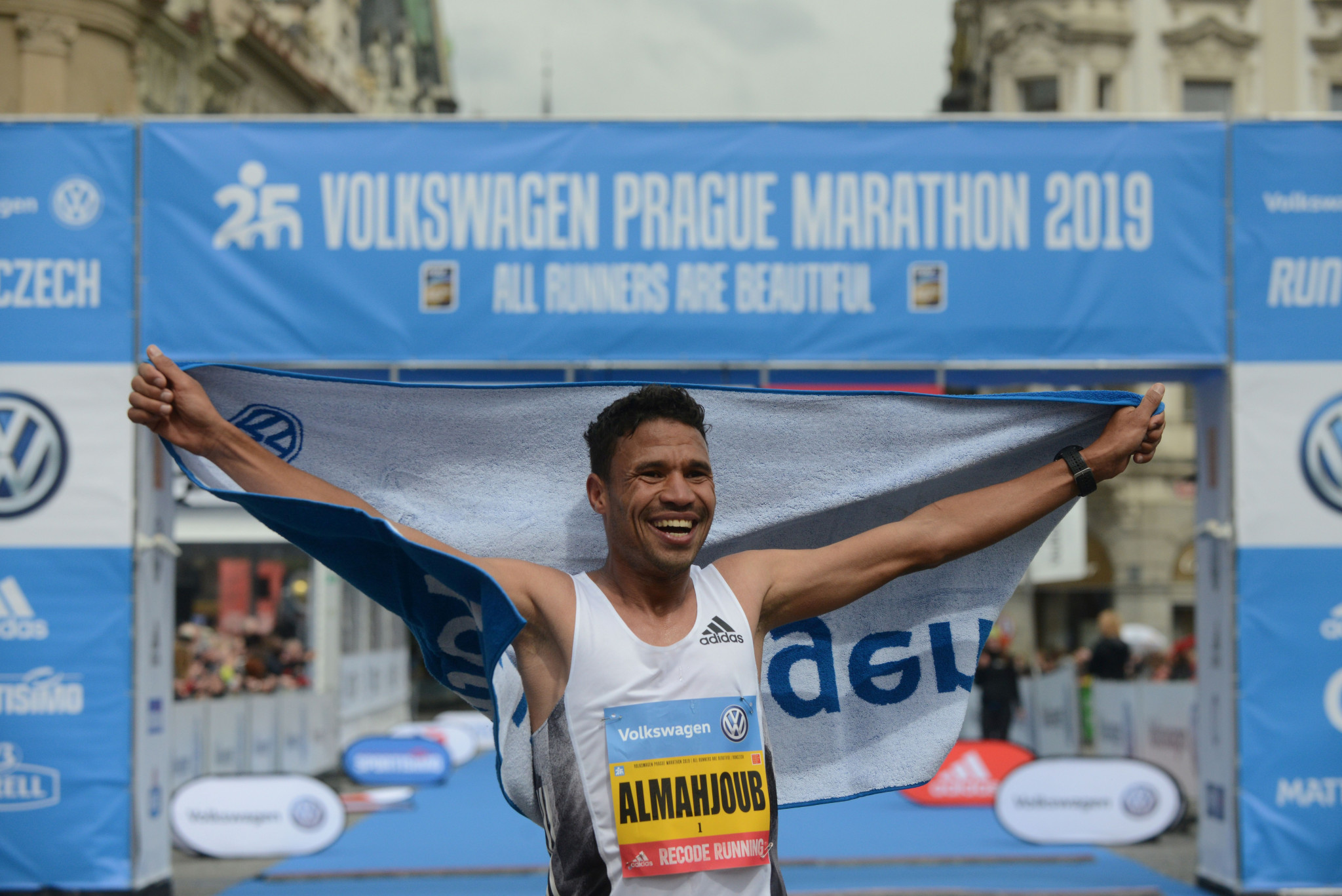 El Mahjoub Dazza has had his Prague Marathon and Fukuoka Marathon wins cancelled ©Getty Images