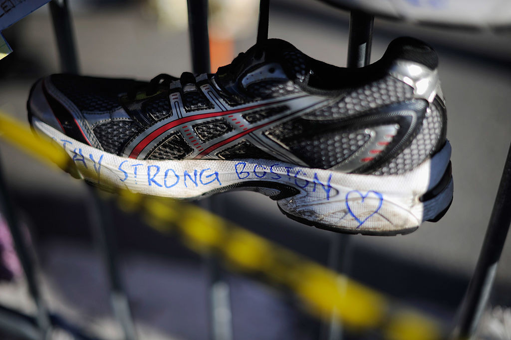 Three people were killed and more than 260 injured in the Boston Marathon bombing in 2013 ©Getty Images