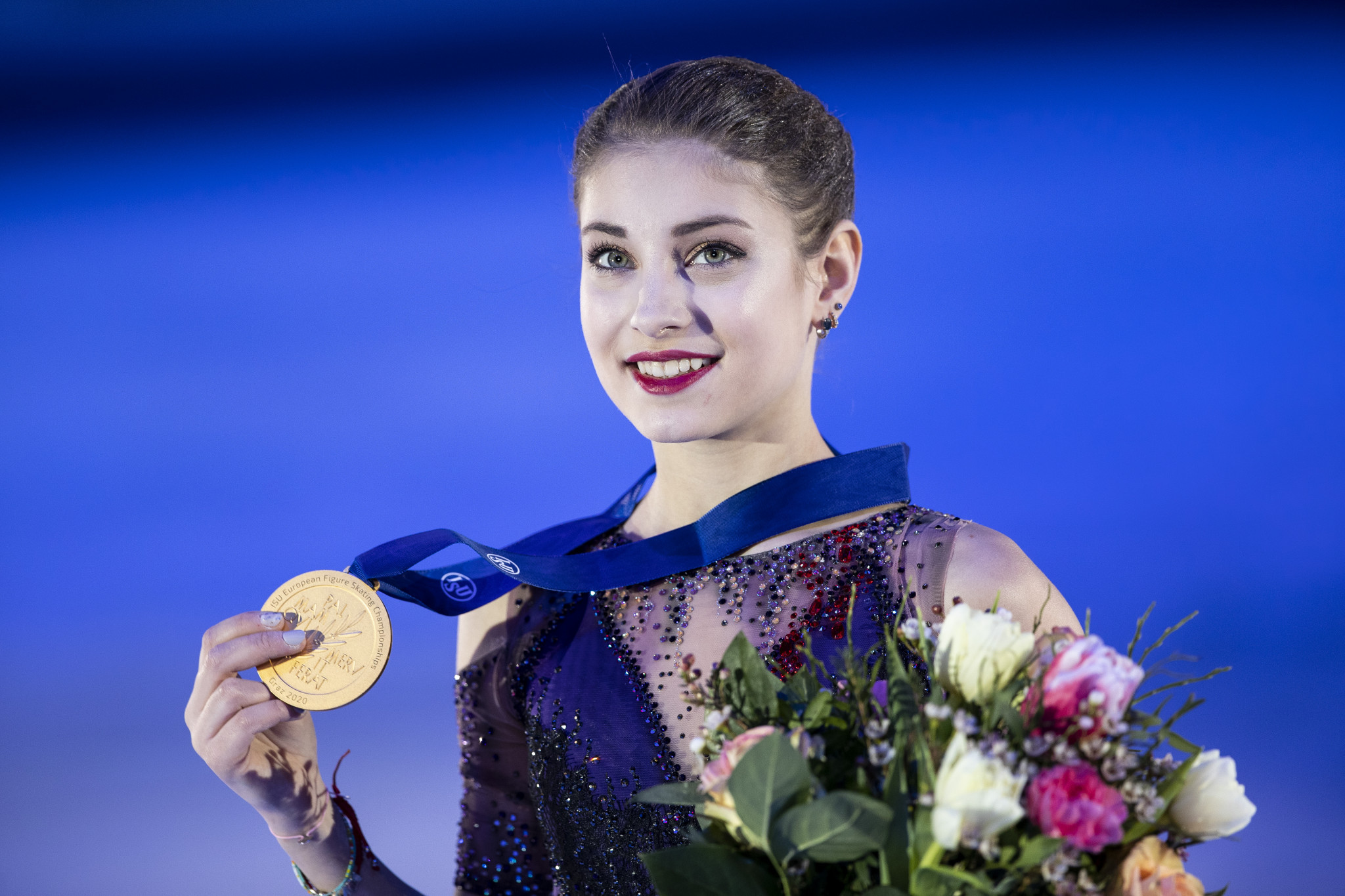 European champion Alena Kostornaia has changed coaches ©Getty Images