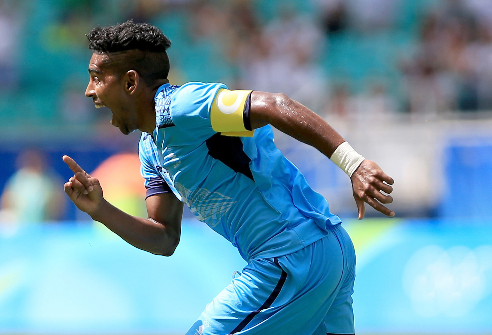 Roy Krishna captained Fiji's men's football team at the Rio 2016 Olympics, scoring the side's only goal ©Getty Images