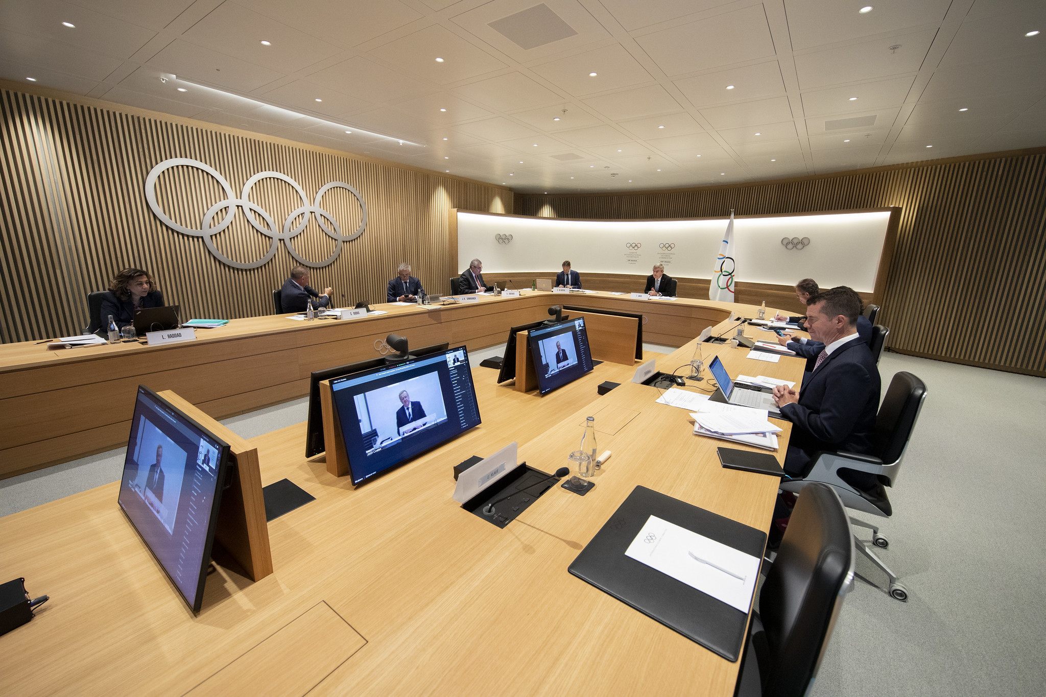 The IOC held a virtual election for two places on its Executive Board last month ©IOC