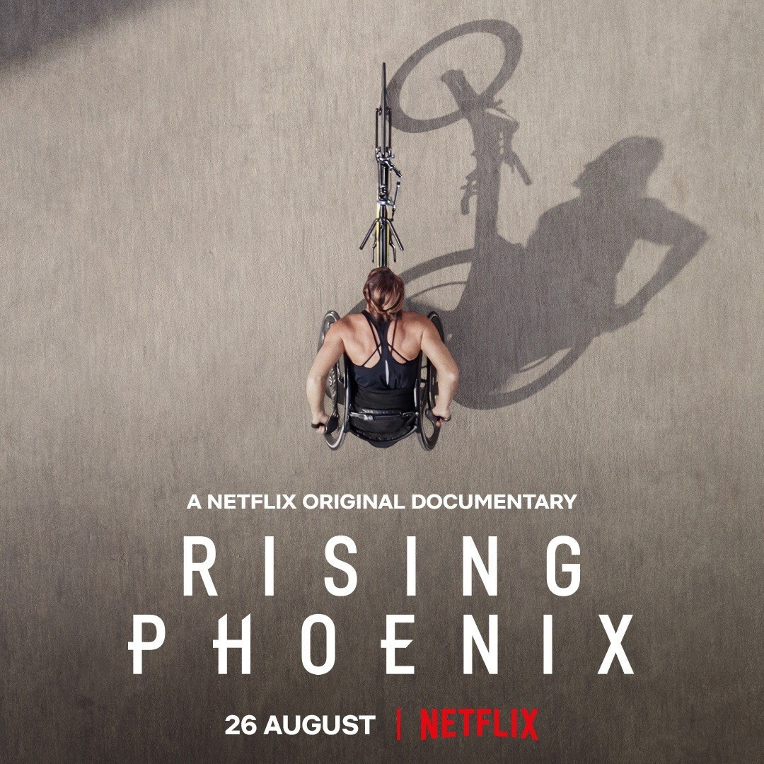 Multiple Paralympic wheelchair racing champion Tatyana McFadden of the United States is one of three producers of Rising Phoenix, the documentary out on Netflix on August 26 ©Netflix