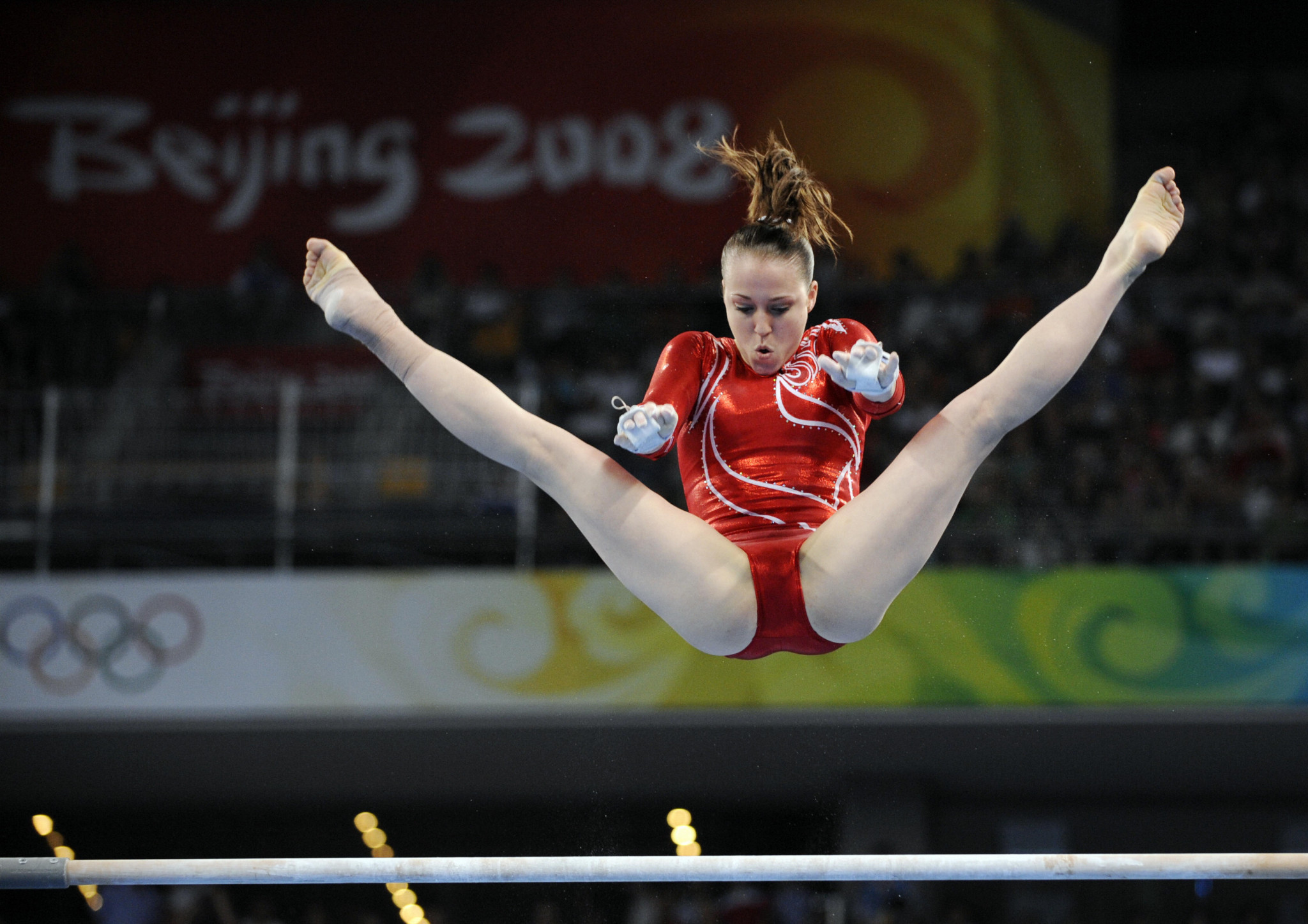 Chellsie Memmel won team silver at the 2008 Olympic Games in Beijing ©Getty Images