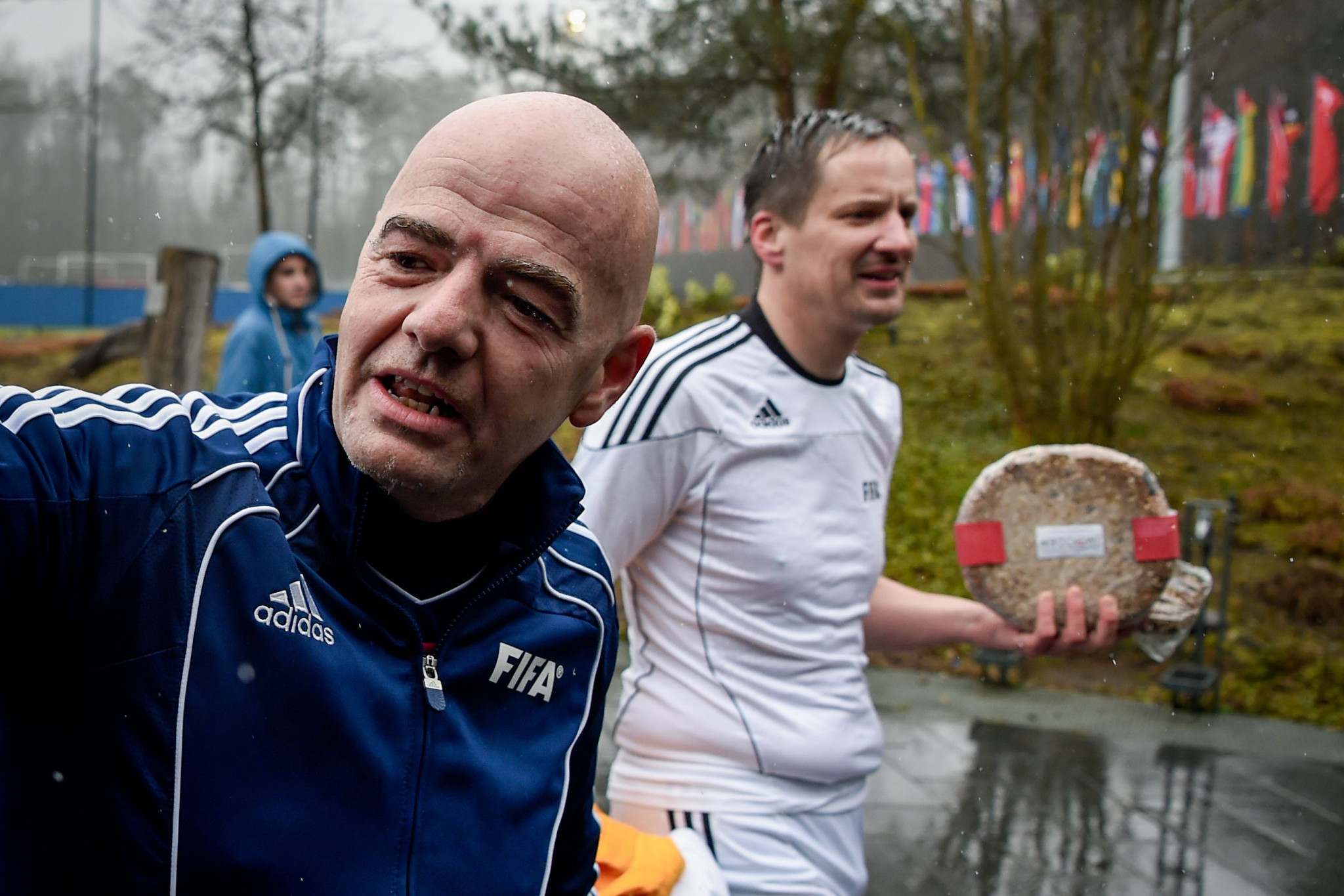 Rinaldo Arnold, who led a previous investigation into Gianni Infantino, is reportedly a life-long friend of the FIFA boss. This picture dates back to 2016 ©Getty Images