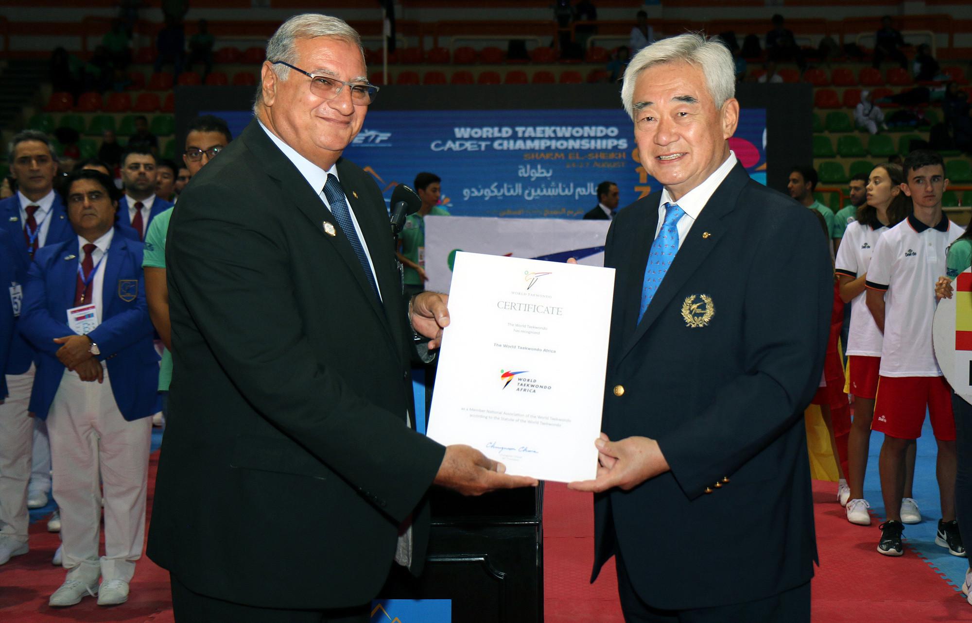 Ahmed Fouly joined the World Taekwondo Council in 2001 ©World Taekwondo