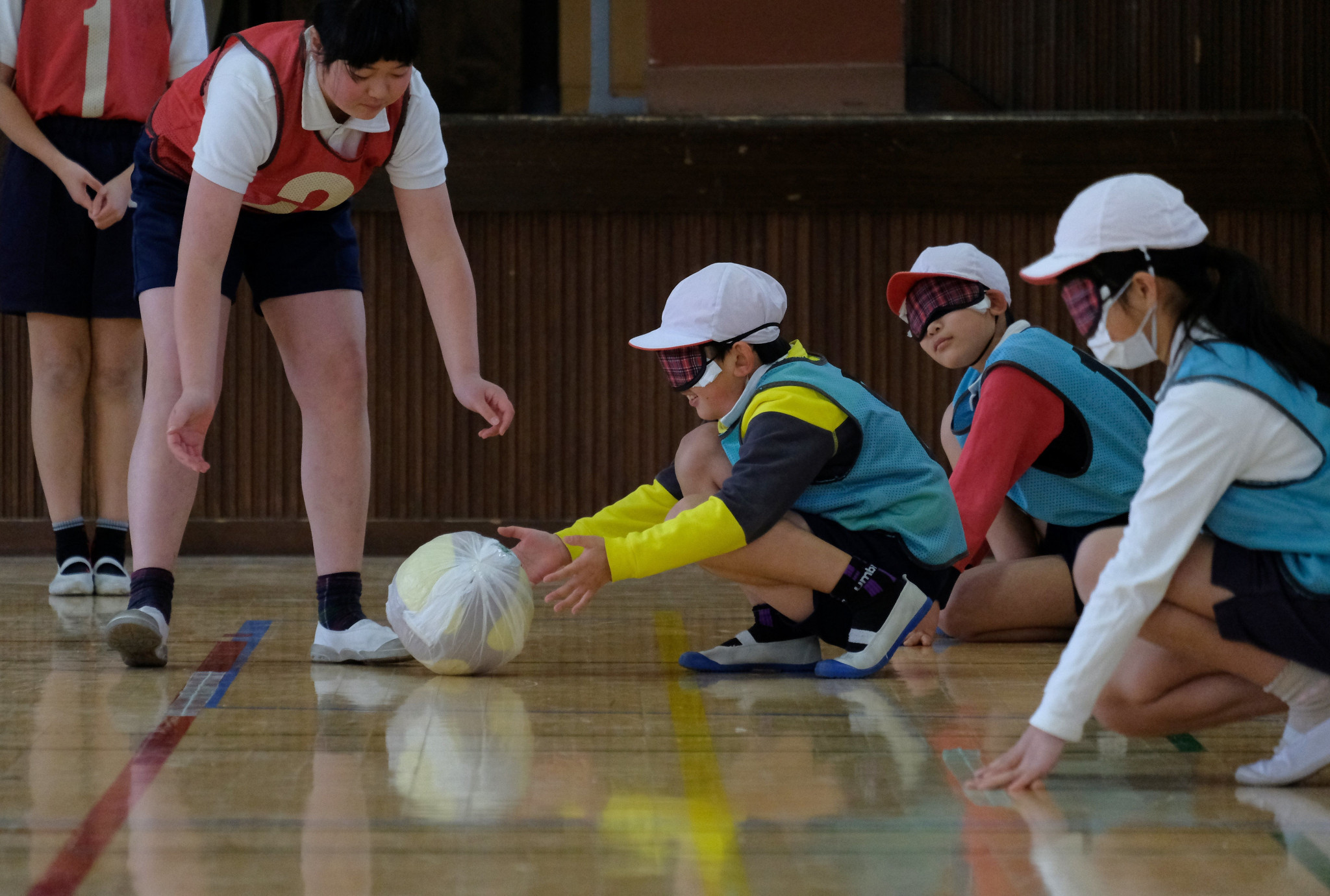 The new group is tasked with getting more young people playing goalball ©Getty Images