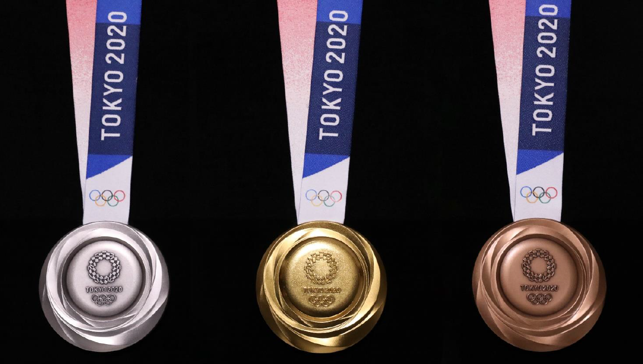 A man has been arrested for selling fake Tokyo 2020 medals in Japan ©Tokyo 2020