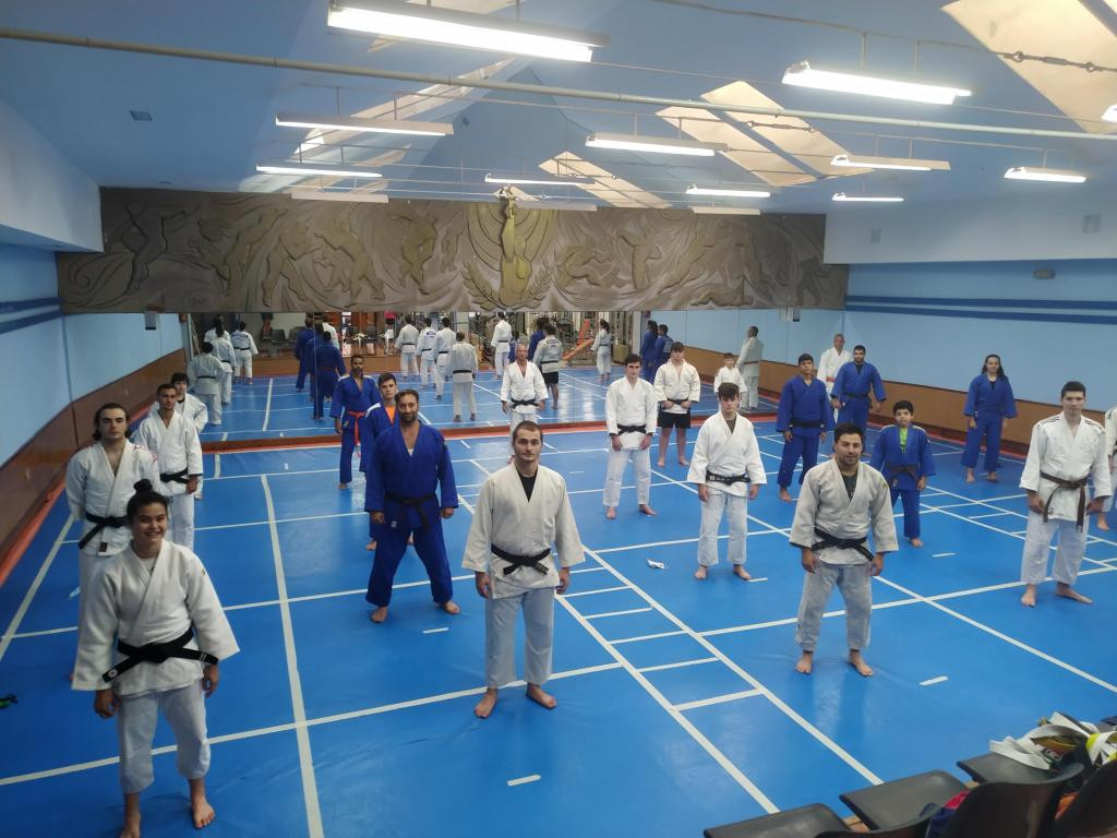 Some regions have seen a return to non-contact judo ©Spanish Judo Federation
