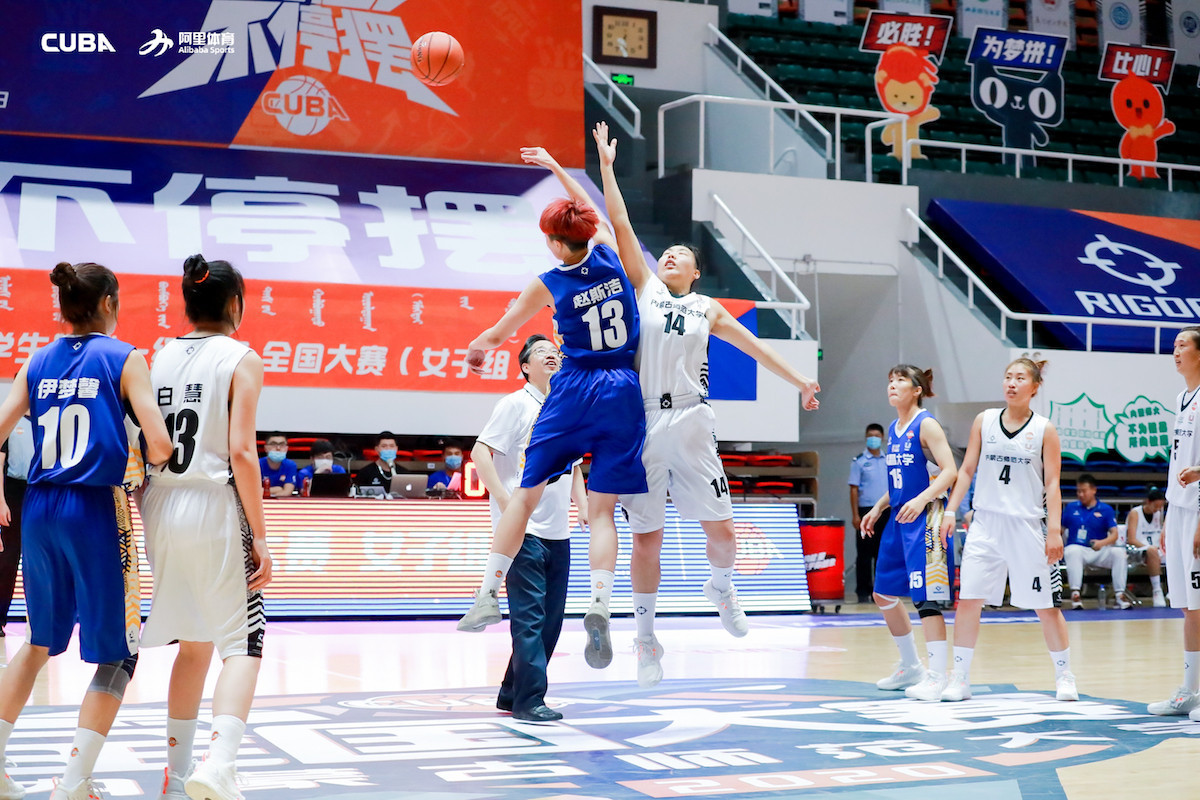 China's university women's basketball is back after nearly five months ©CUBA