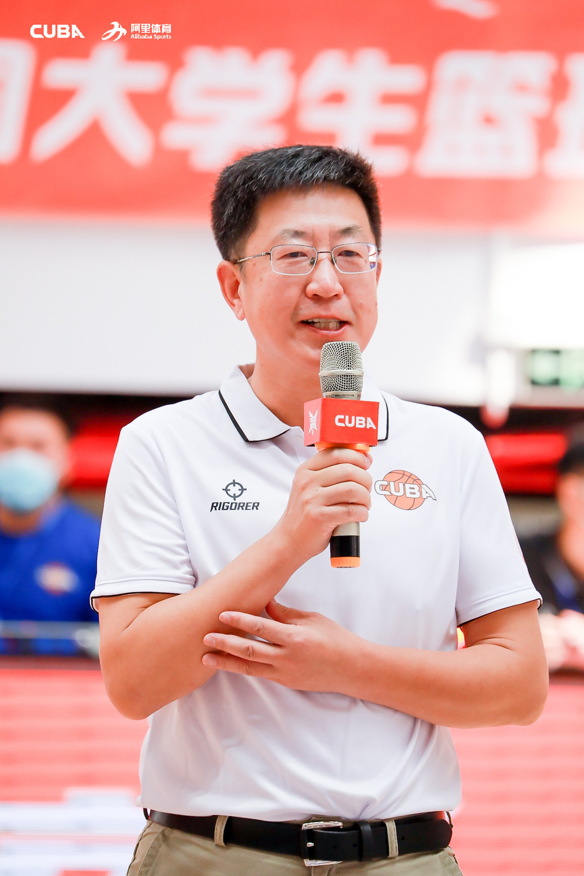 FUSC President Xue Yanqing hopes that sport can continue during the pandemic ©CUBA