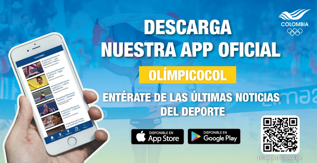 The OlimpicoCOL app is free to download ©COC