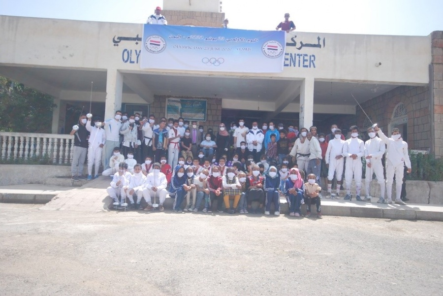 Yemen Olympic Committee holds events to mark Olympic Day
