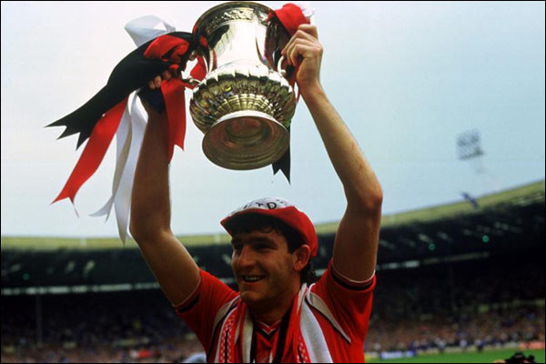 An auction of football memorabilia from the career of former Manchester United and Northern Ireland player Norman Whiteside raised nearly £200,000 ©Getty Images