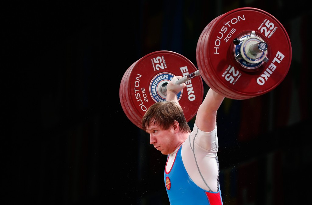 Alexsei Kosov was also among the four Russian lifters suspended by the IWF