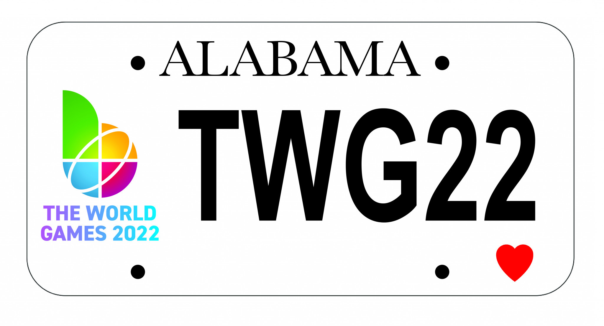 World Games 2022 releases special license plates