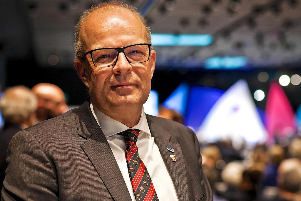 Kim Andersen is standing for re-election as World Sailing President ©World Sailing