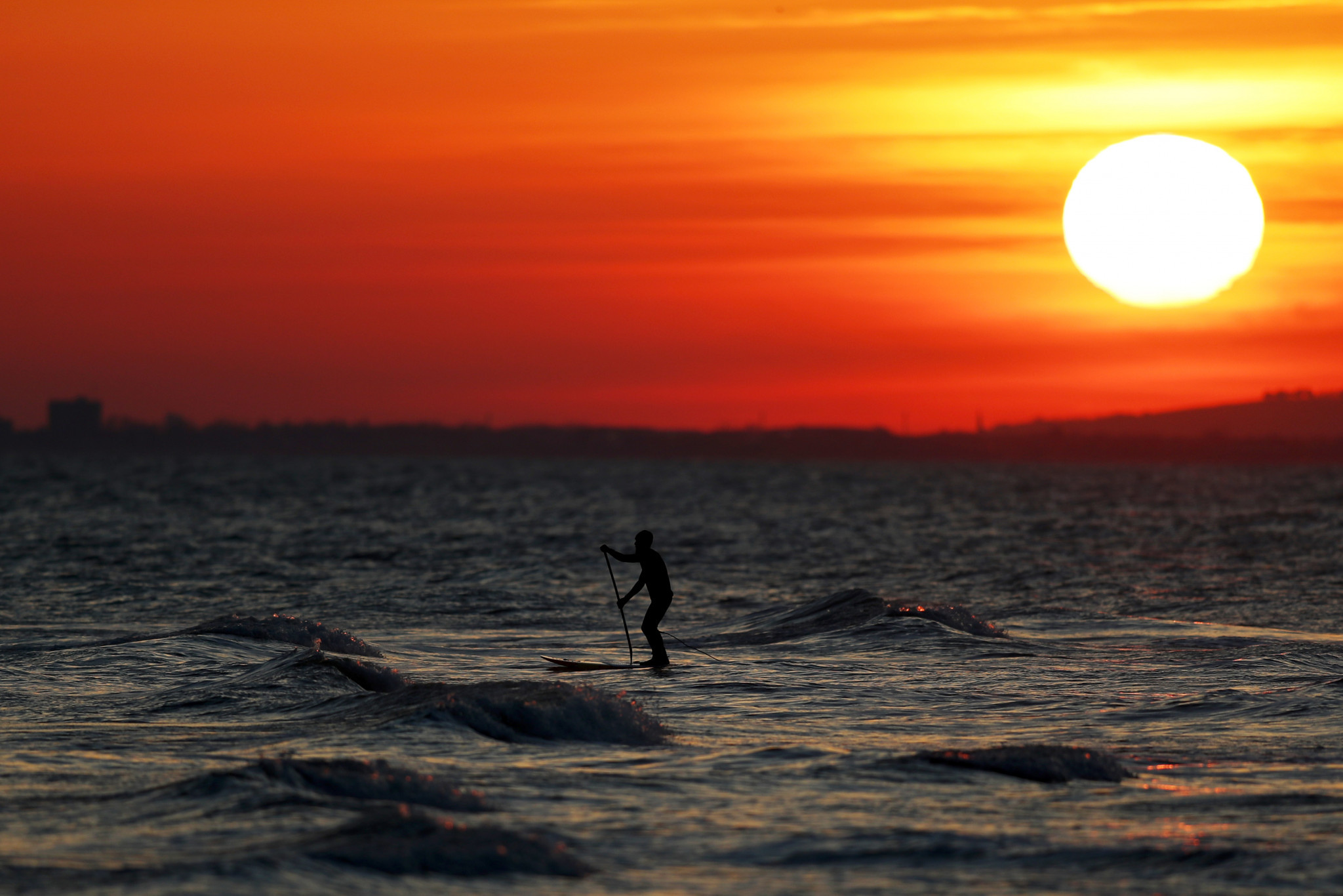 The global popularity of SUP has grown sharply in recent years ©Getty Images