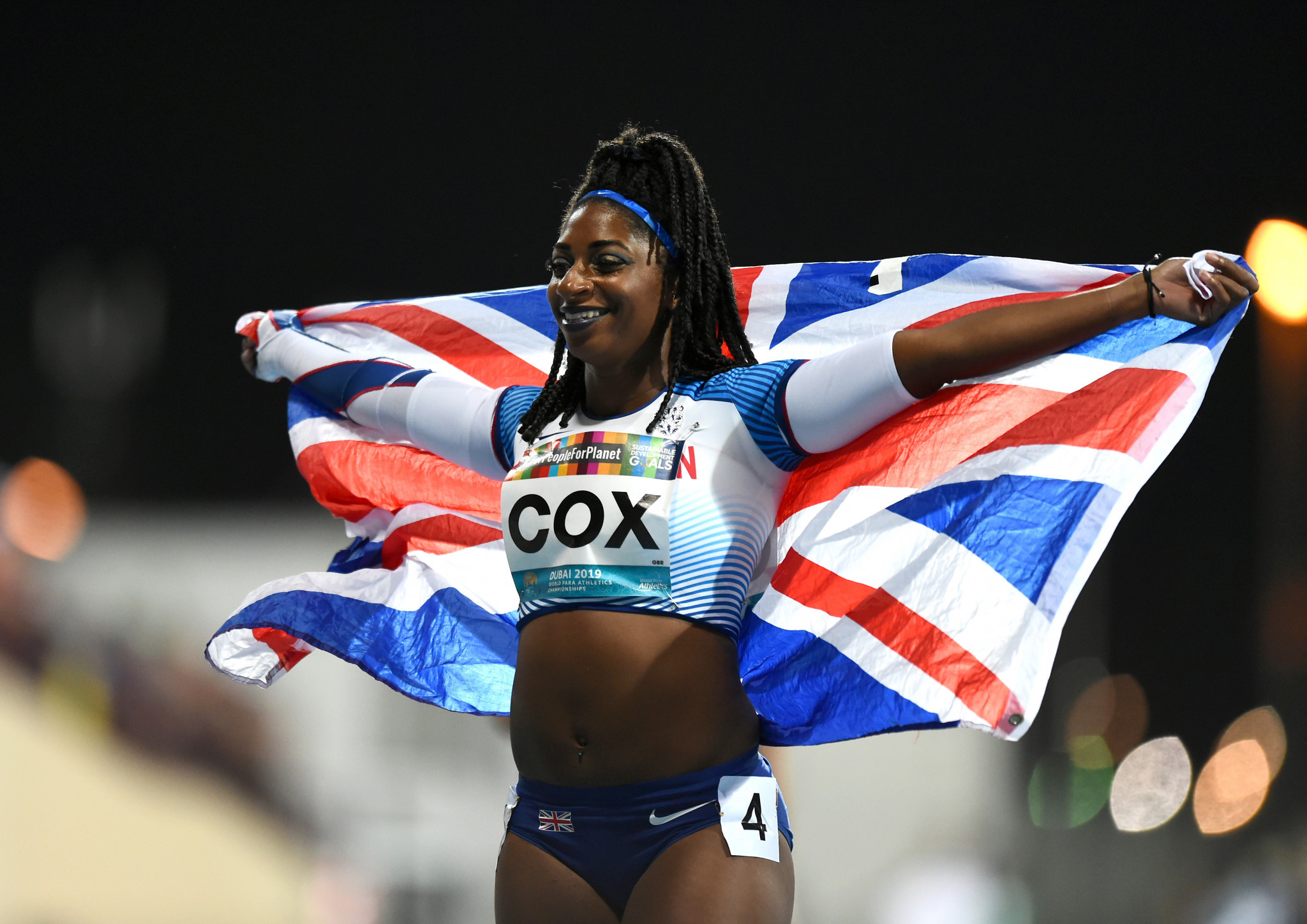 Paralympic champion Cox added to British Athletics Equality, Diversity and Inclusion Advocates Group