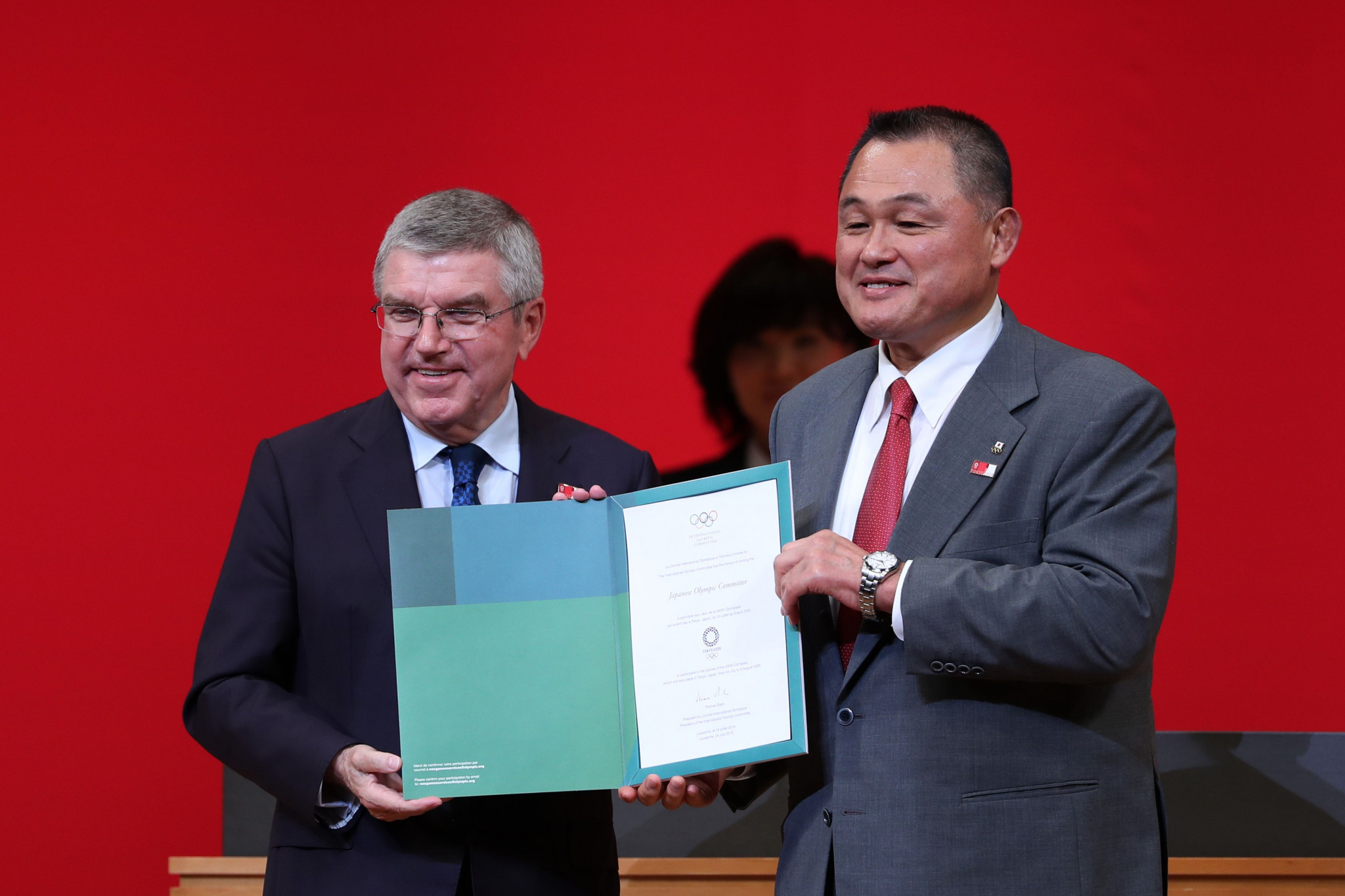 IOC and JOC Presidents discuss methods to stop abuse in Japanese sport
