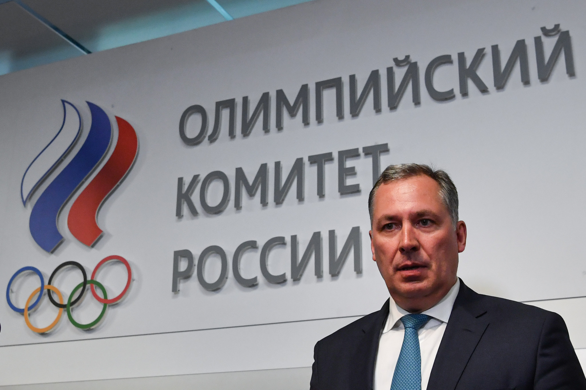 ROC President Stanislav Pozdnyakov appeared to suggest the organisation will back the removal of Yuri Ganus ©Getty Images