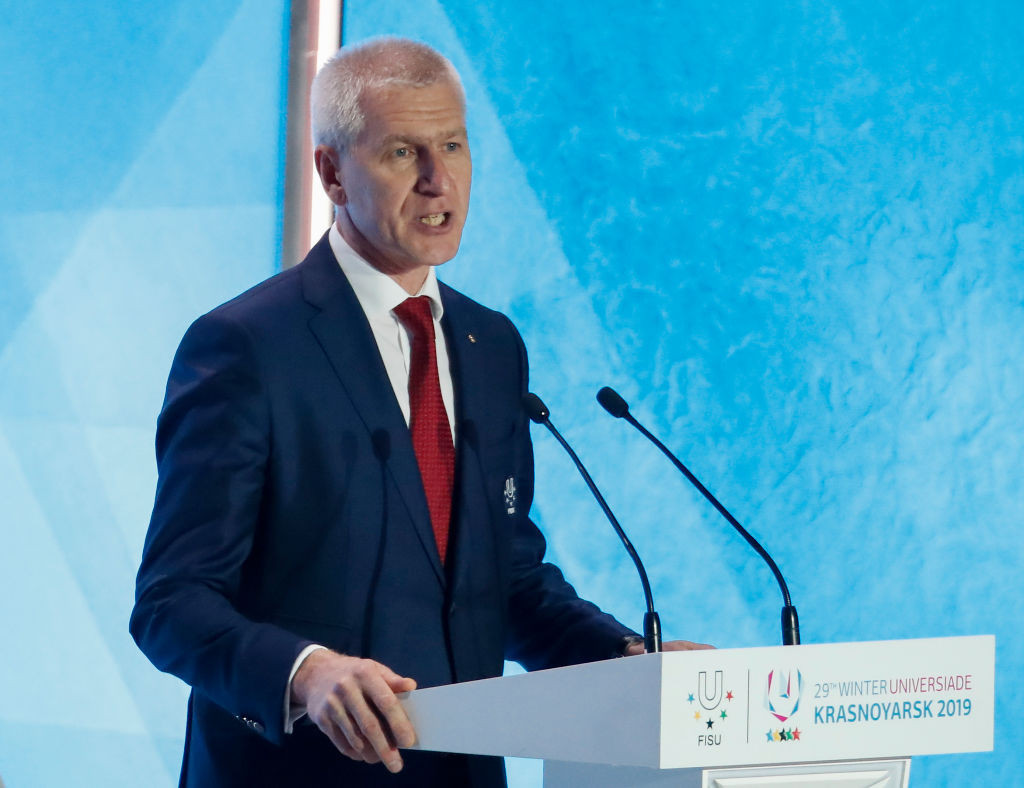 FISU President Oleg Matytsin said the organisation was pleased to continue its relationship with SportAccord ©Getty Images