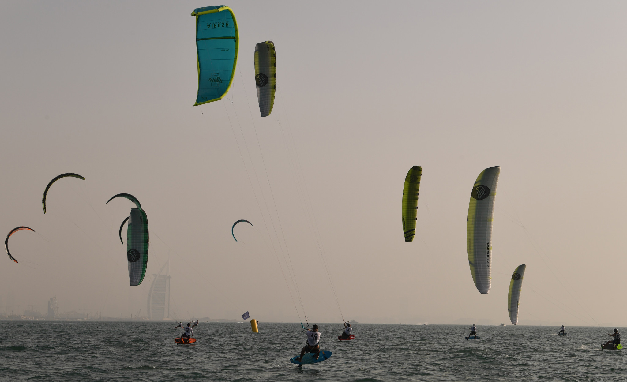 French kiteboarding team hold training camp with eyes on Paris 2024