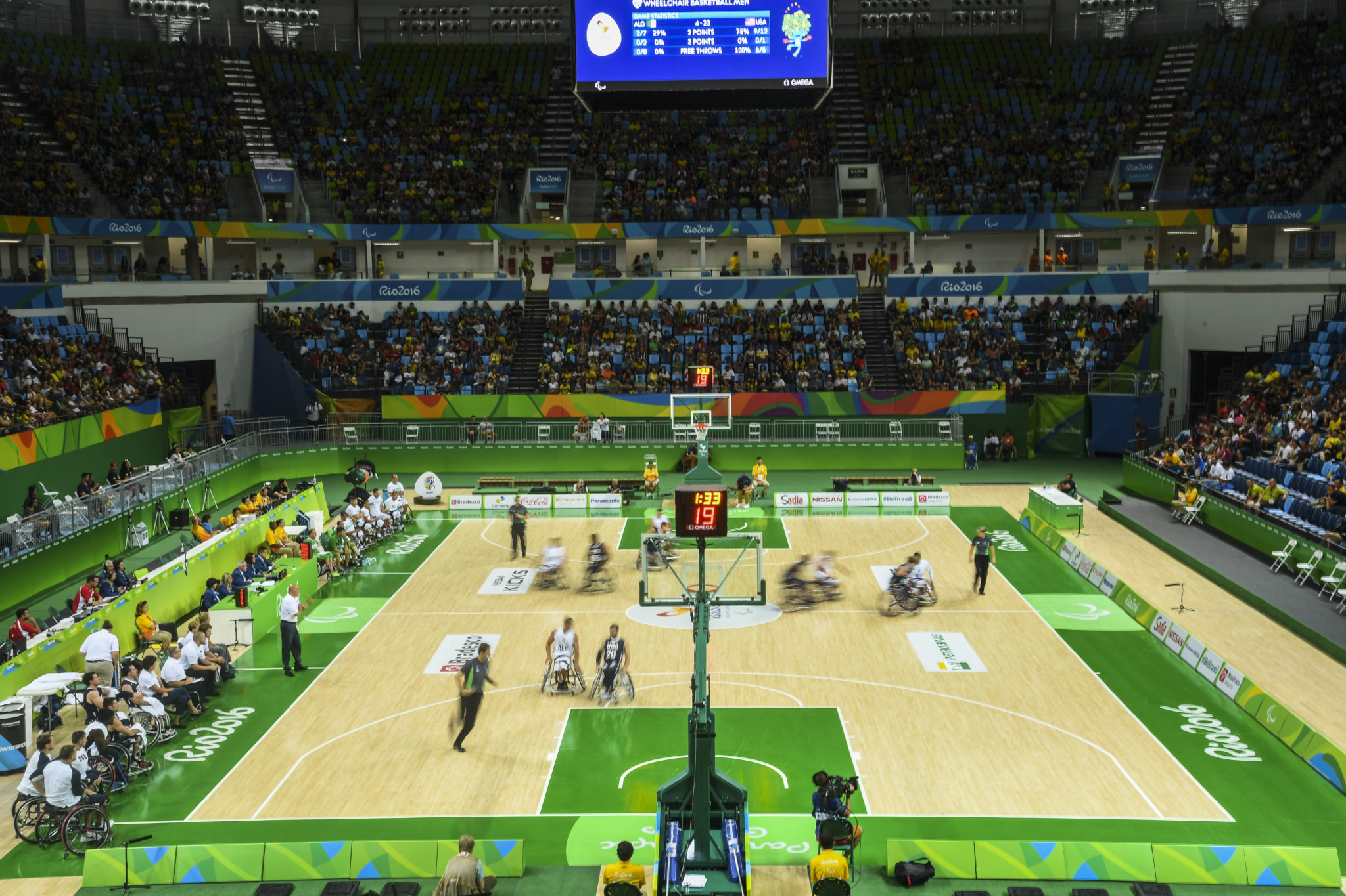Wheelchair basketball has been threaten with Paralympic exclusion unless classification changes are made ©Getty Images