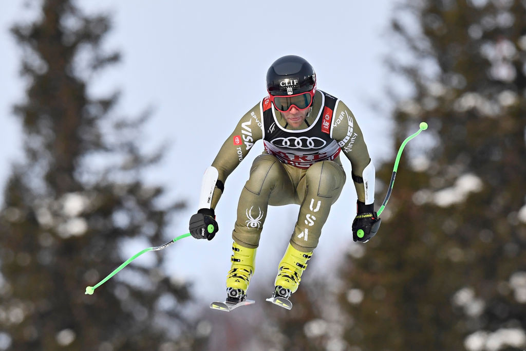 American Alpine skier Nyman facing spell on sidelines after training accident