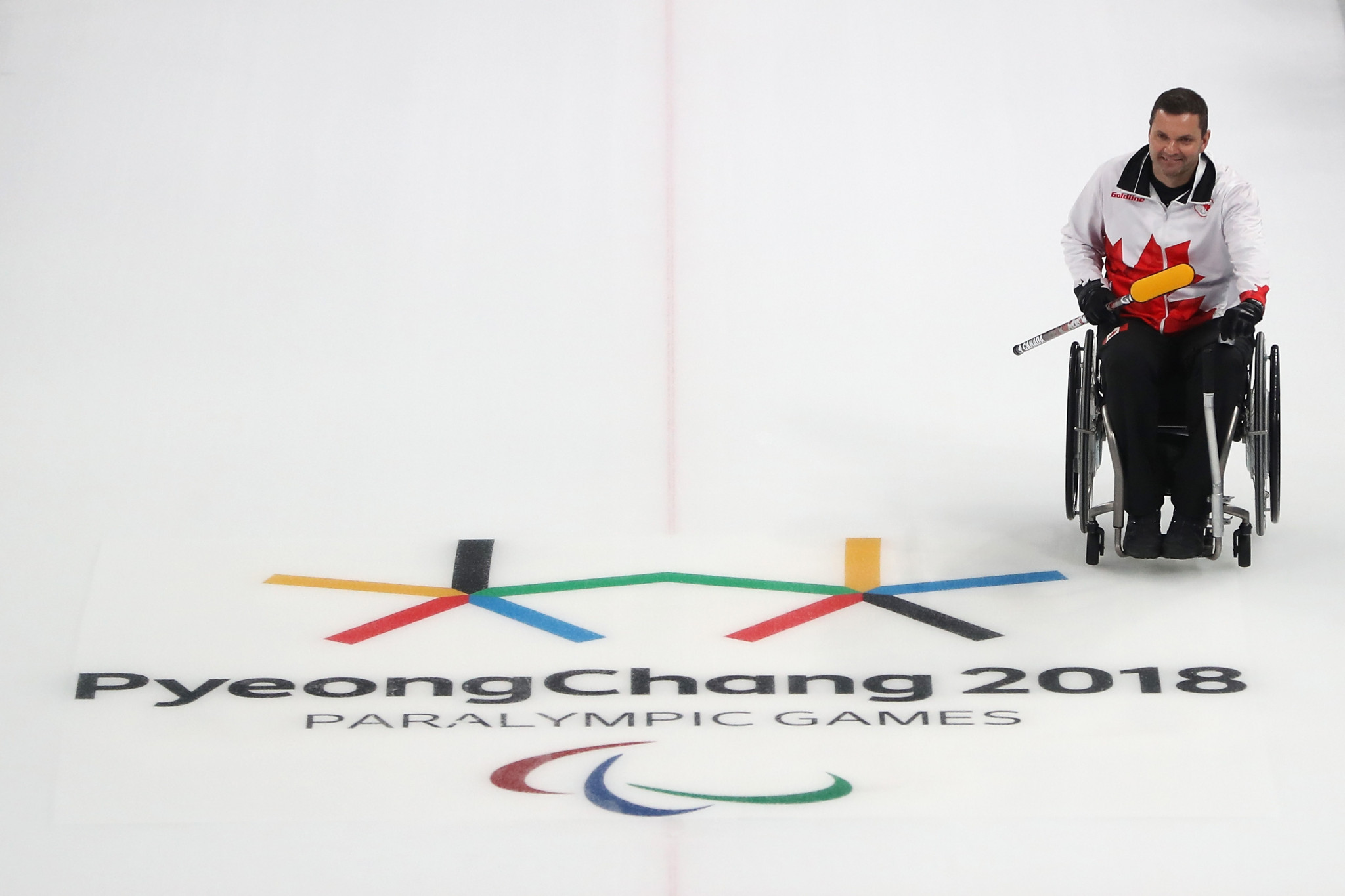 Mark Ideson is the first Paralympian to take part in the series ©Getty Images